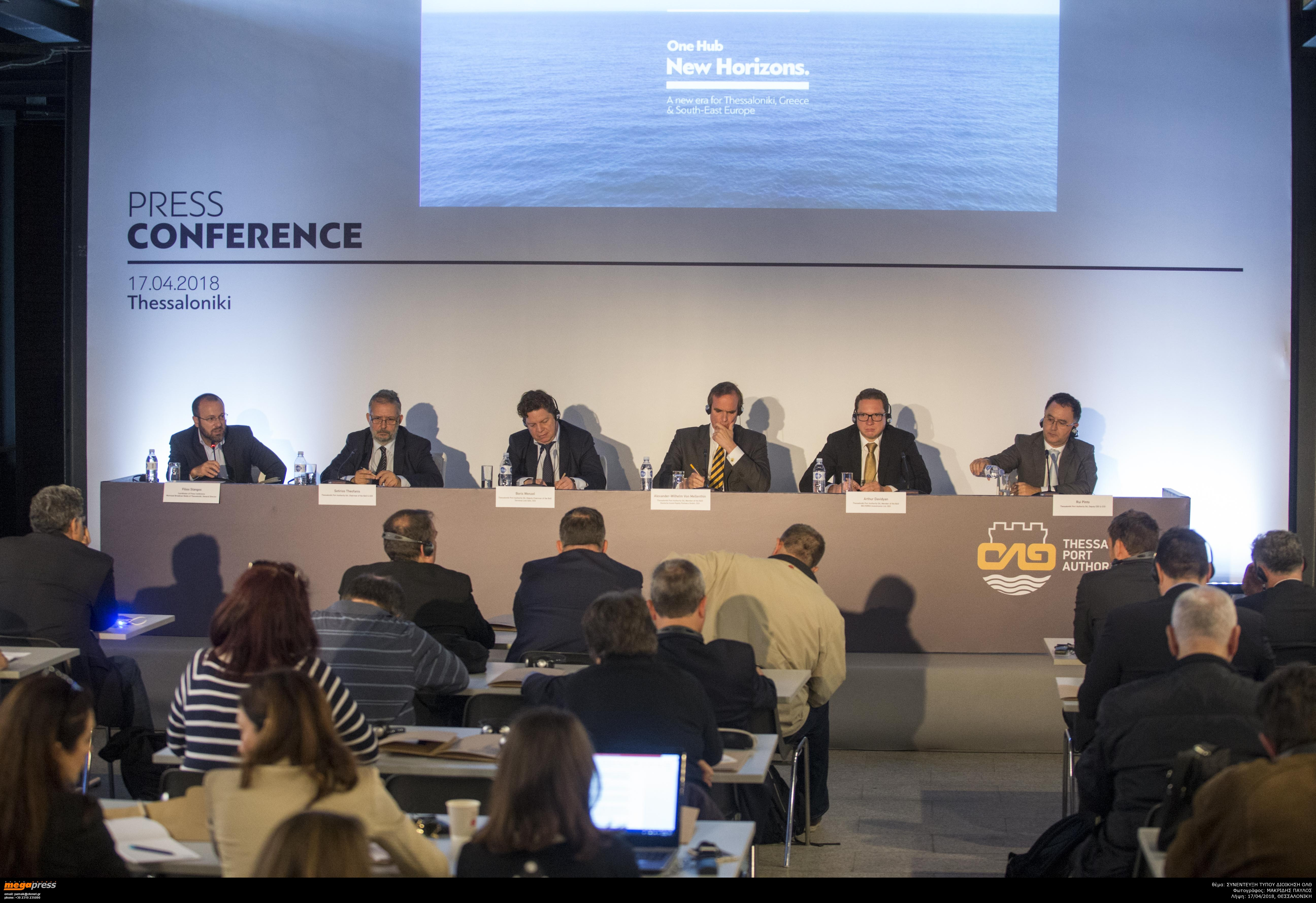 ΟΛΘ - Press Release 17 04 2018 - The new Management of Thessaloniki